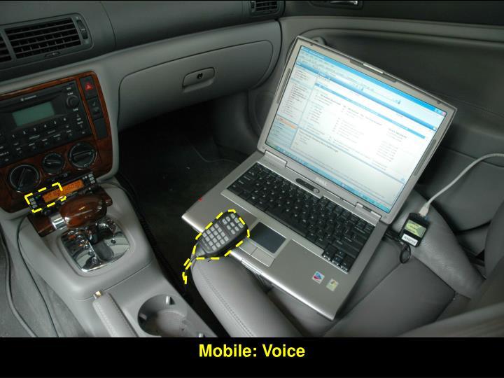 Mobile: Voice