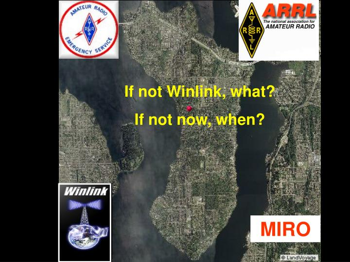 If not Winlink, what?