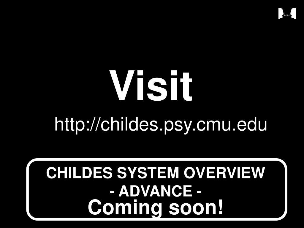 http://childes.psy.cmu.edu