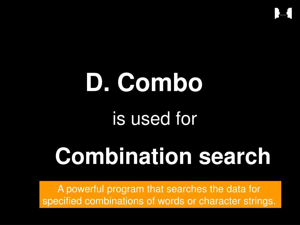 D. Combo