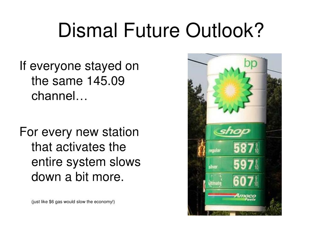 Dismal Future Outlook?