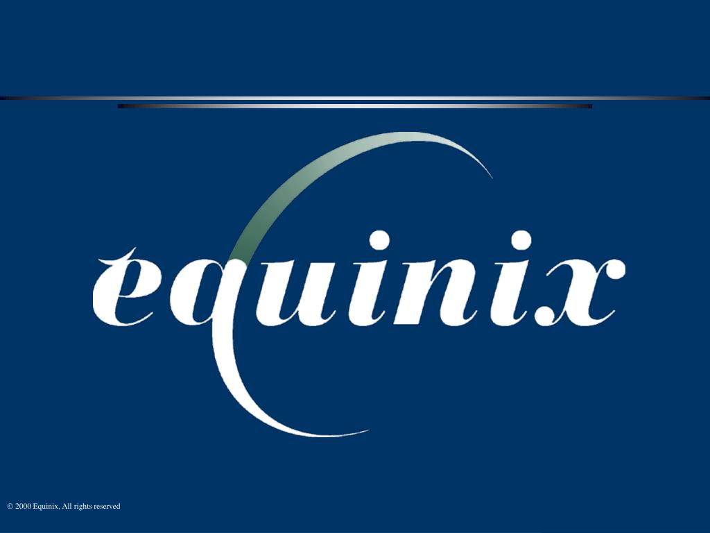  2000 Equinix, All rights reserved
