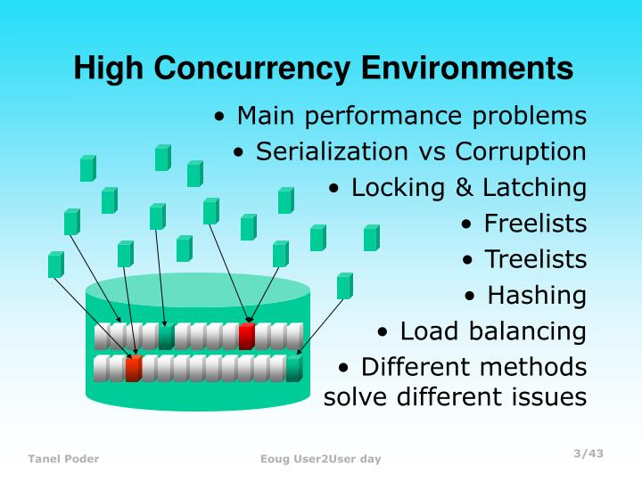 High concurrency environments