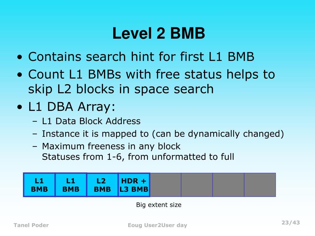 Level 2 BMB