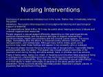 nursing interventions35