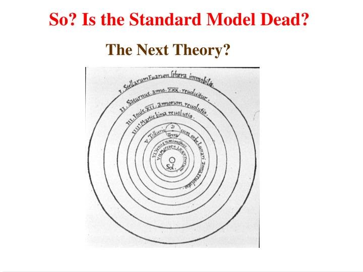 The Next Theory?
