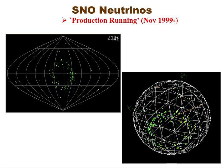 SNO Neutrinos
