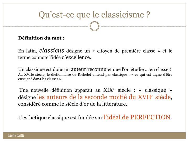 ppt le classicisme powerpoint presentation id 553042. Black Bedroom Furniture Sets. Home Design Ideas