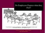 do employees express what they feel