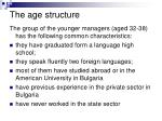 the age structure1