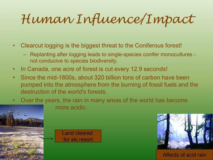 Human Influence/Impact
