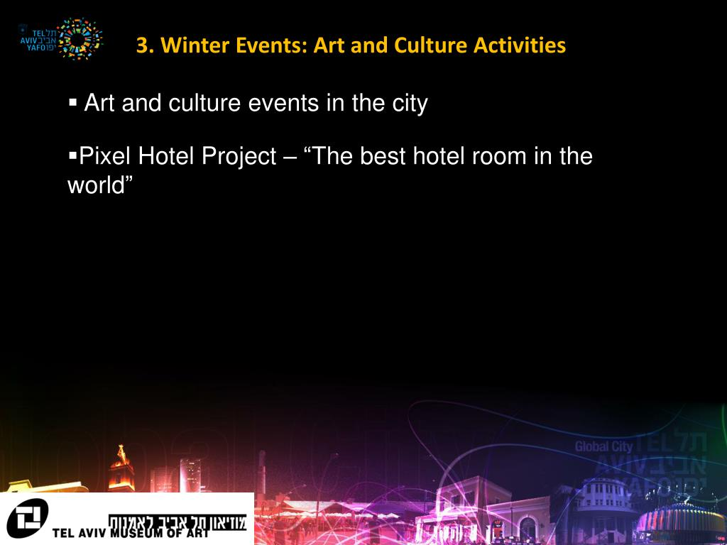 3. Winter Events: Art and Culture Activities