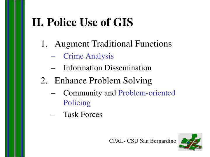 community and problem solving policing essay Community policing essay writing proactive, patrols and problem solving community partnerships refer to the collaboration between the police and the members of.