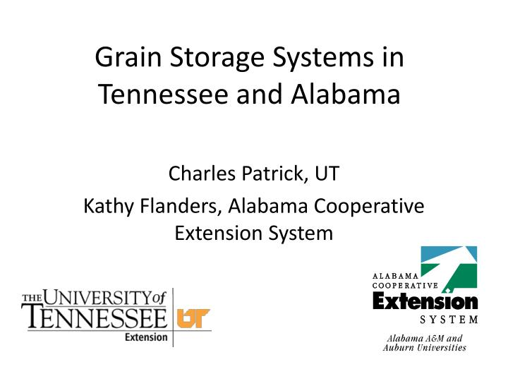 grain storage systems in tennessee and alabama