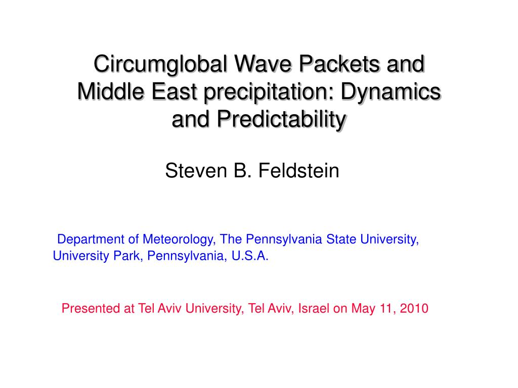 Circumglobal Wave Packets and