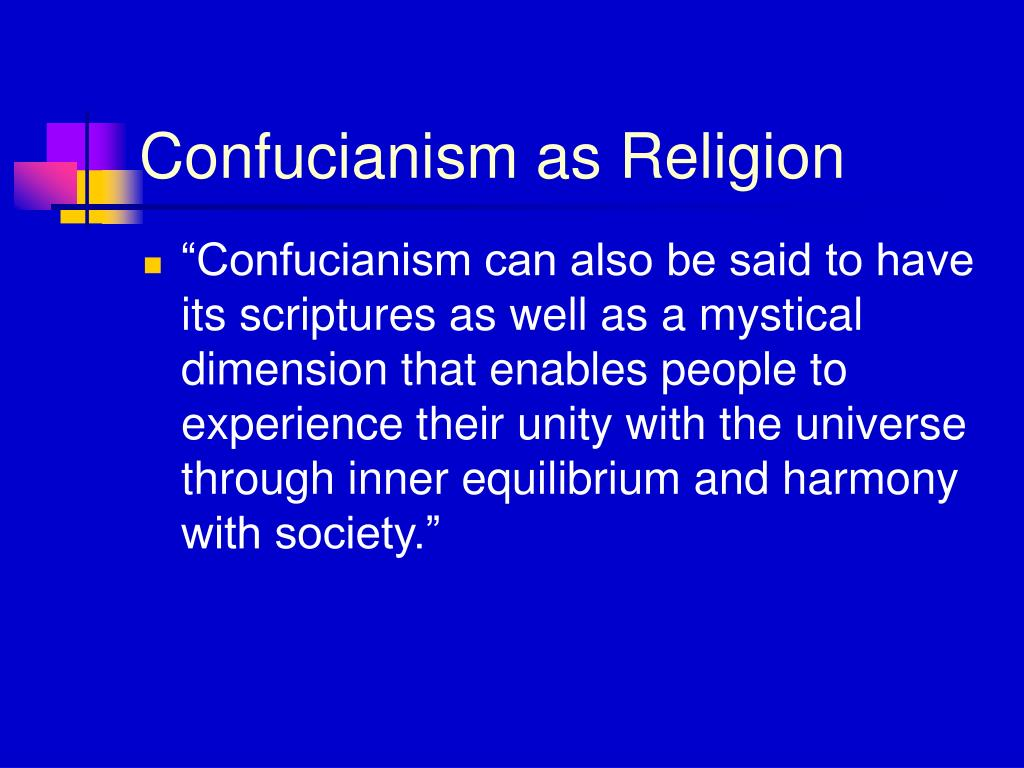 Confucianism as Religion