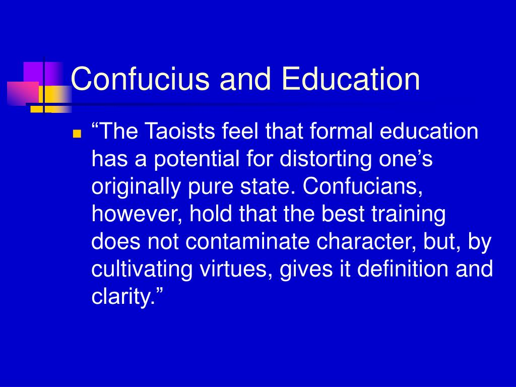 Confucius and Education
