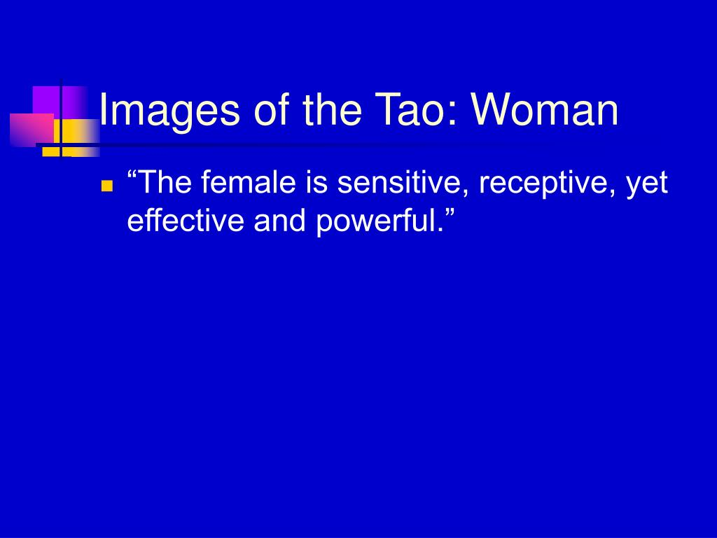 Images of the Tao: Woman
