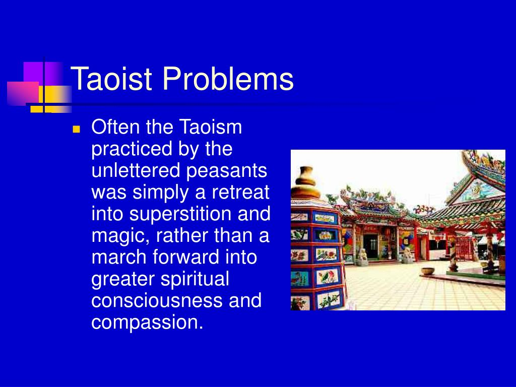 Taoist Problems