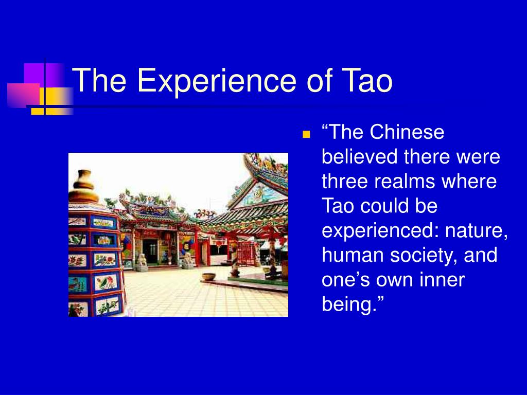 The Experience of Tao
