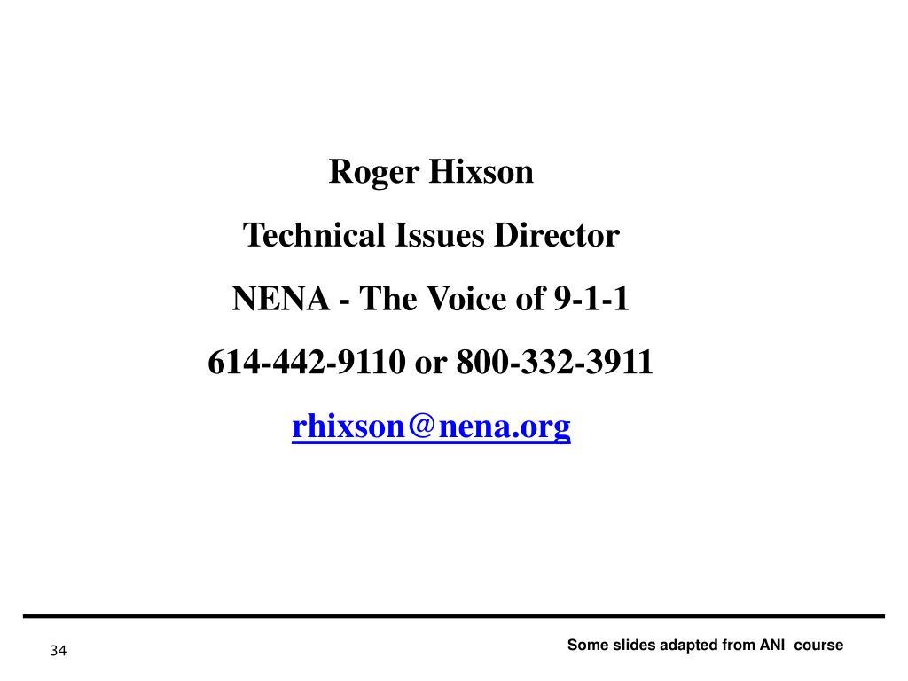 Roger Hixson