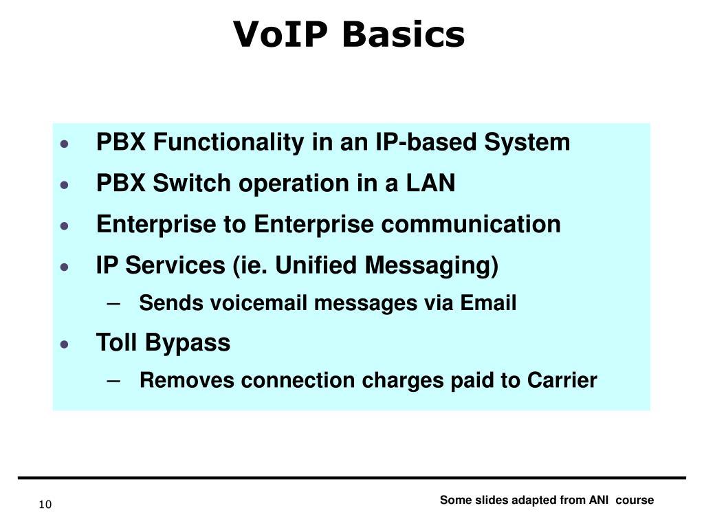 VoIP Basics