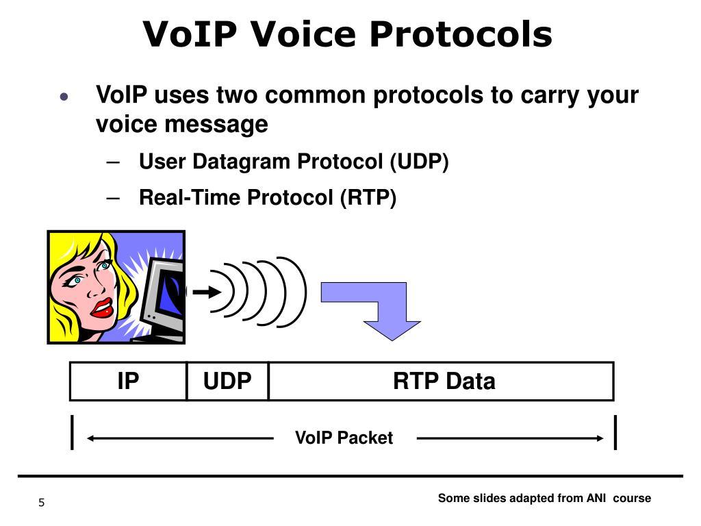 VoIP Voice Protocols