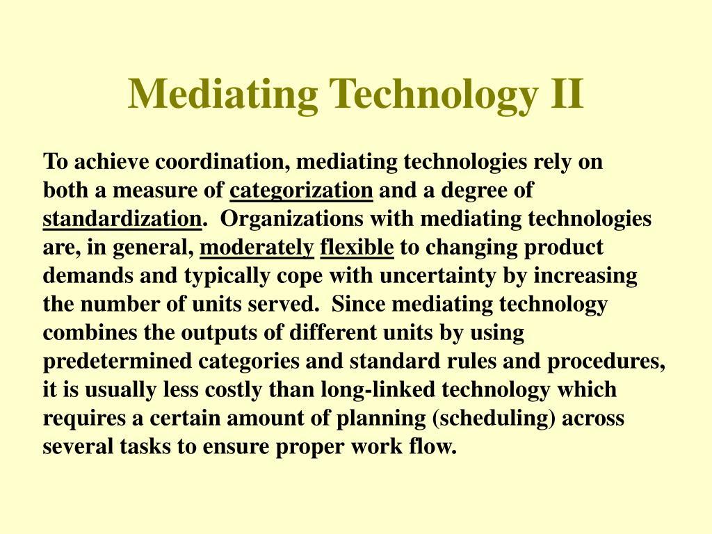 Mediating Technology II