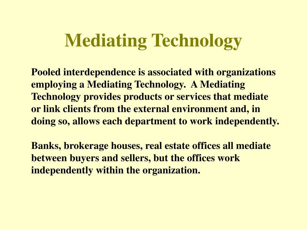 Mediating Technology