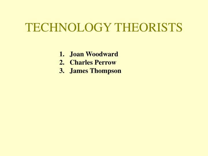Technology theorists