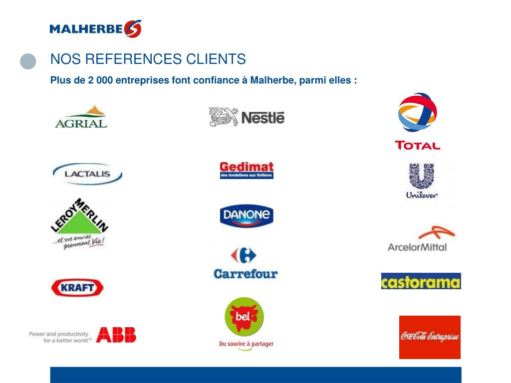 NOS REFERENCES CLIENTS