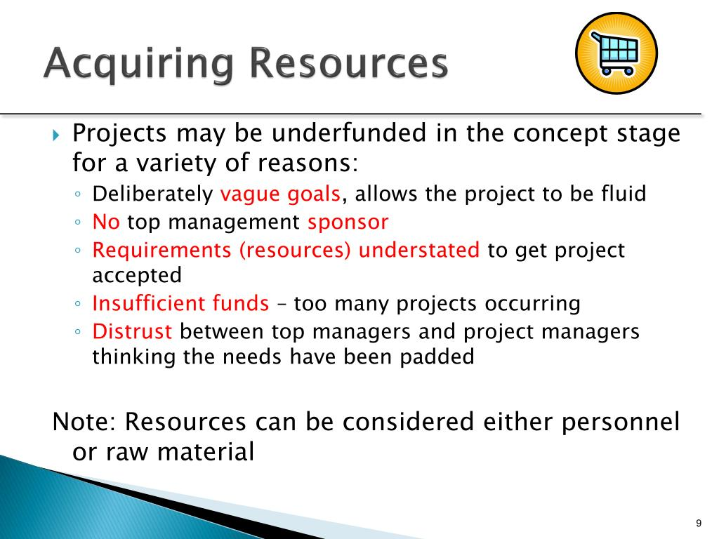 Acquiring Resources