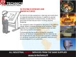 is technics designs and manufactures