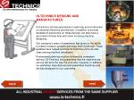 is technics designs and manufactures37