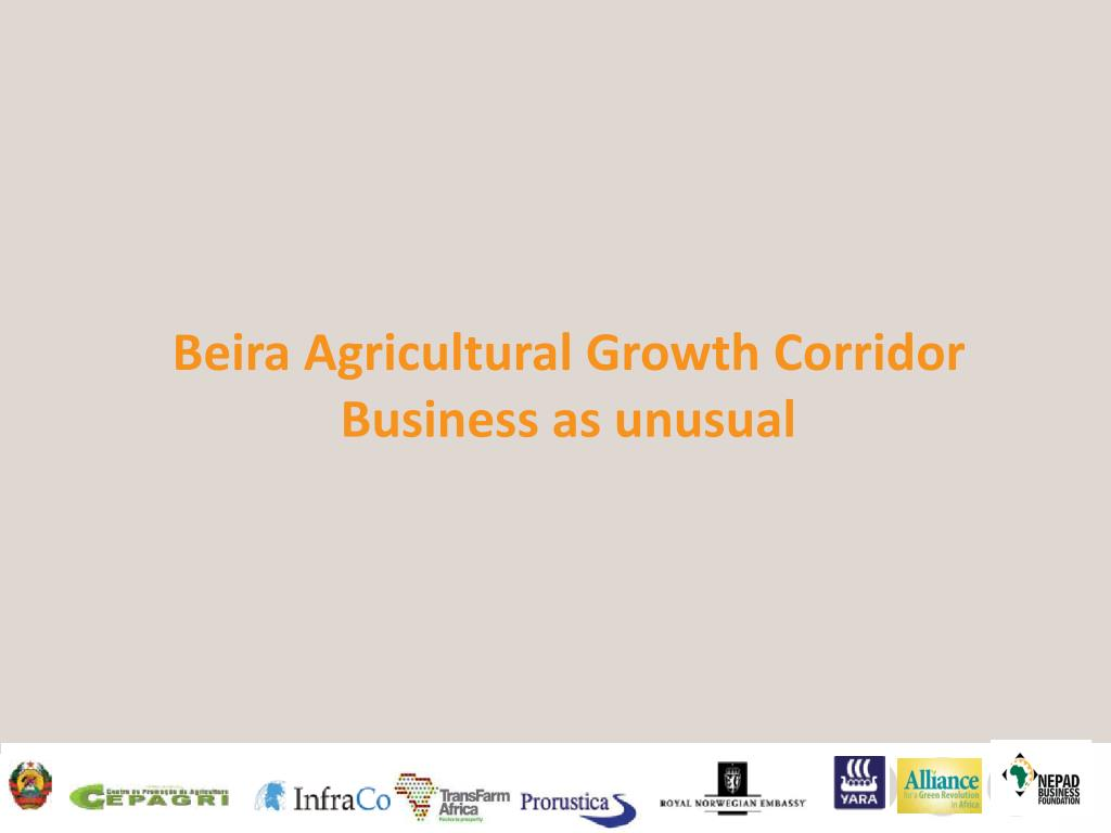 Beira Agricultural Growth Corridor