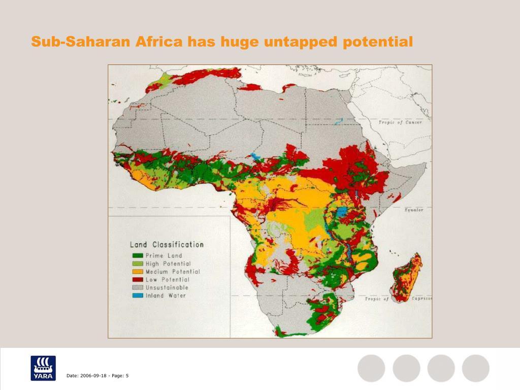 Sub-Saharan Africa has huge untapped potential