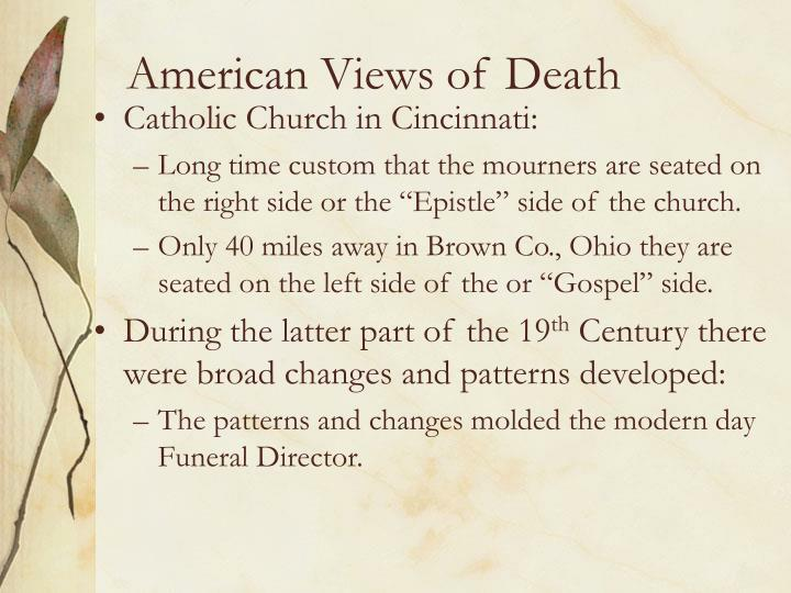 American views of death3