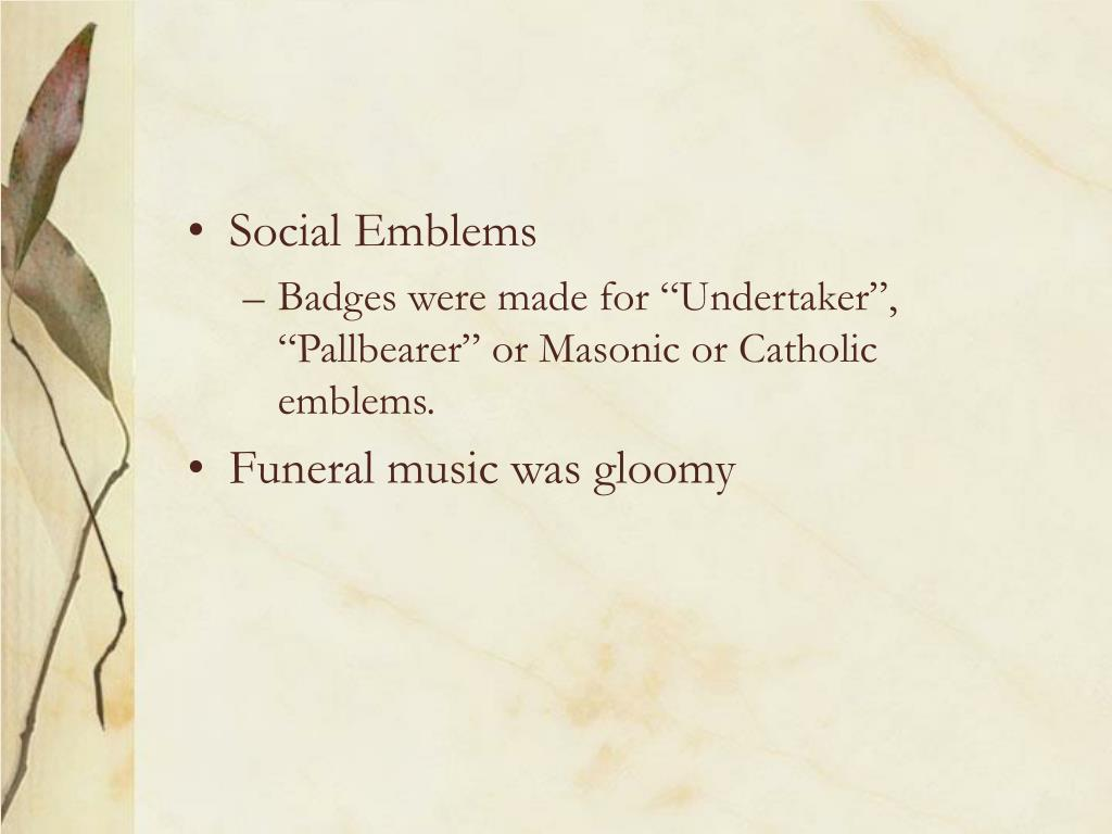 Social Emblems
