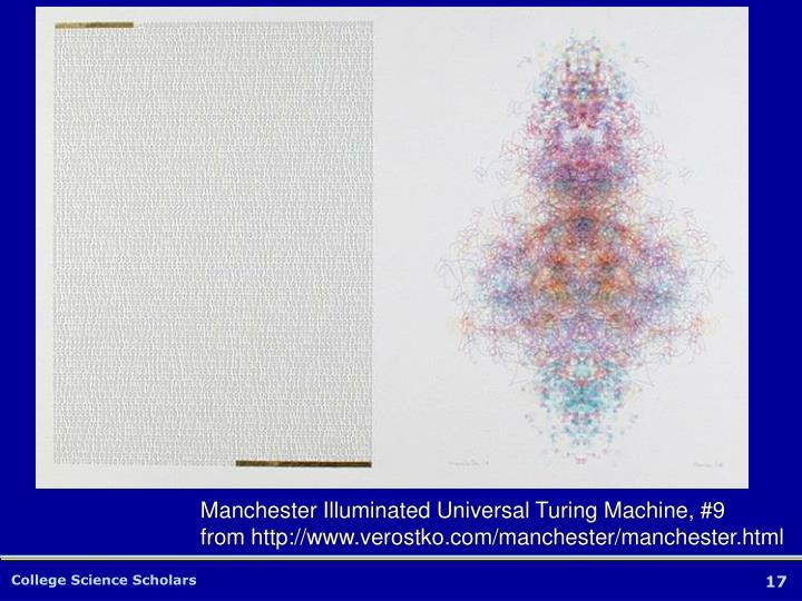 Manchester Illuminated Universal Turing Machine, #9