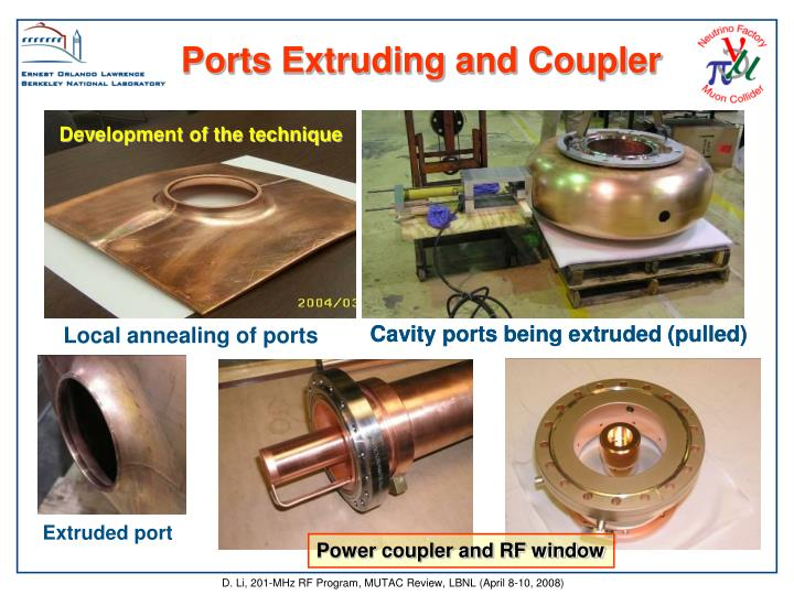 Ports Extruding and Coupler