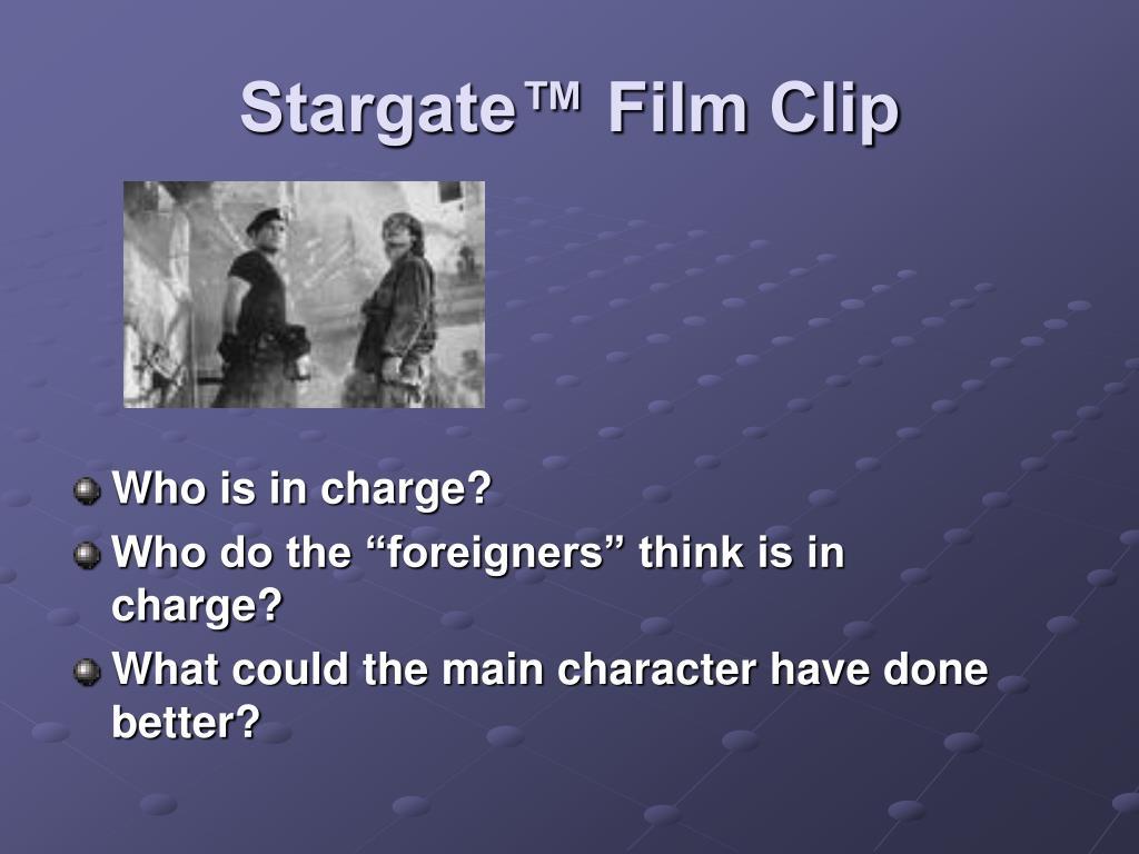 Stargate™ Film Clip