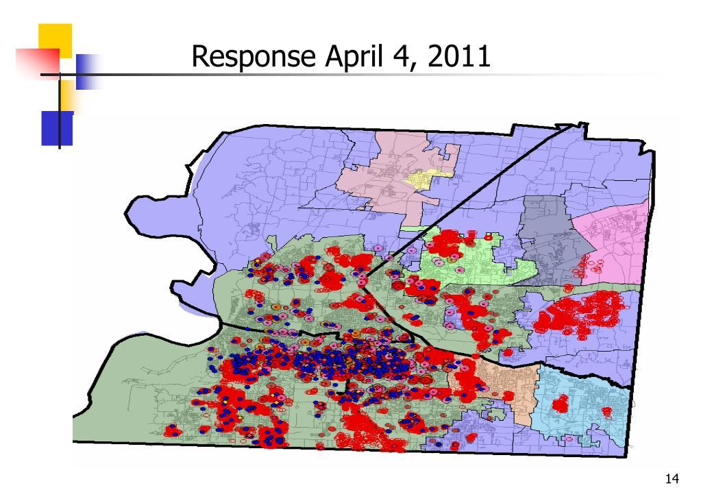 Response April 4, 2011