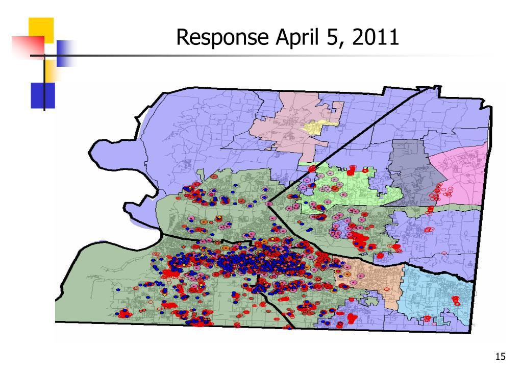 Response April 5, 2011