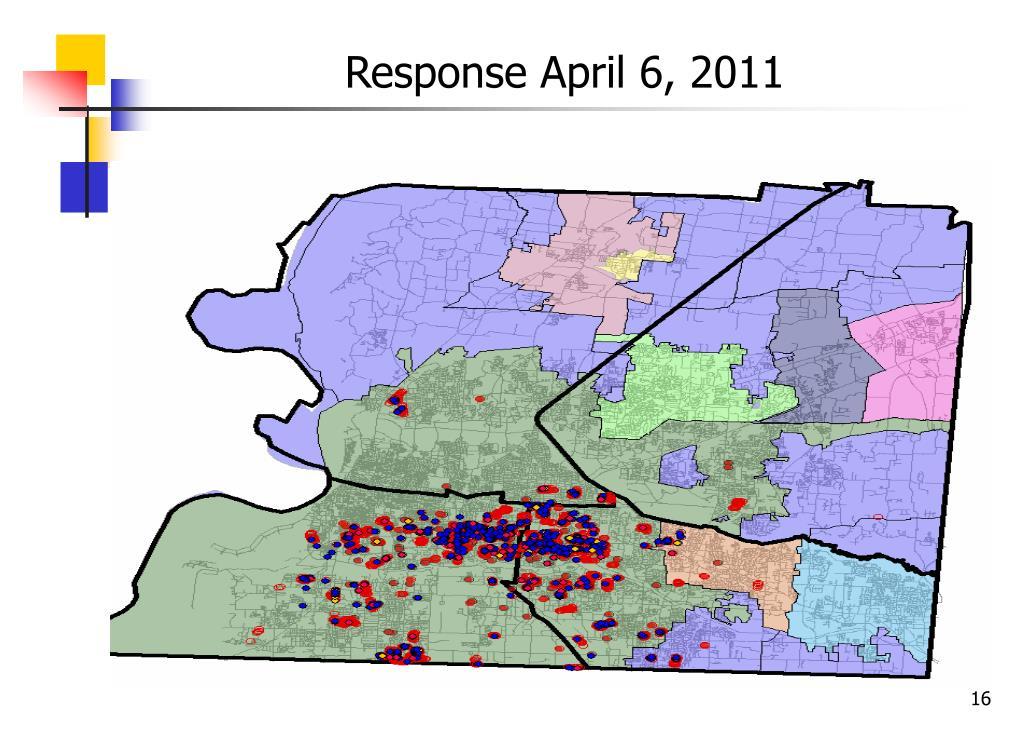 Response April 6, 2011