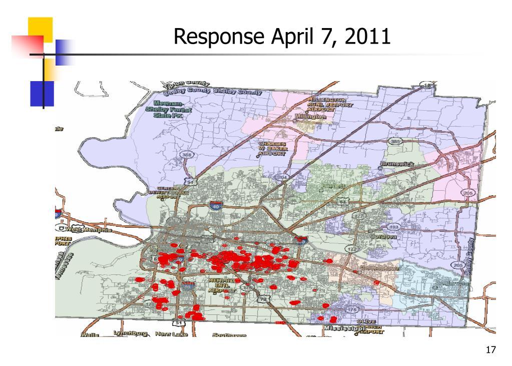 Response April 7, 2011