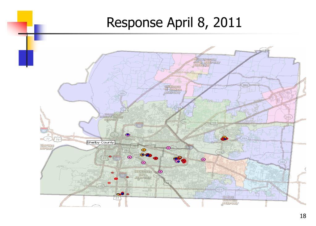 Response April 8, 2011