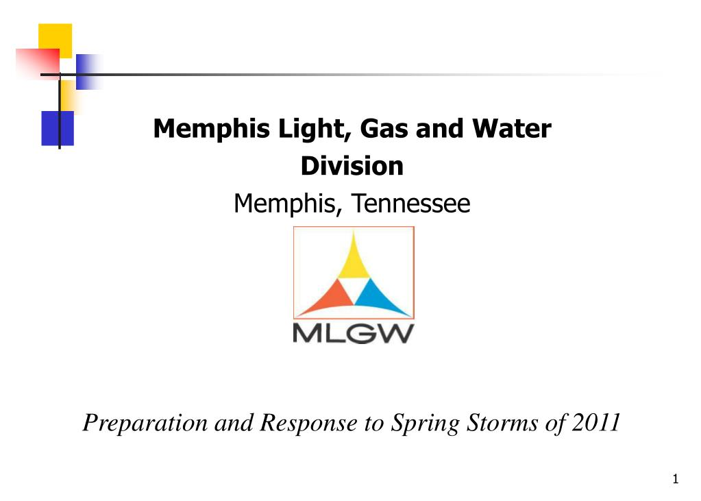 Memphis Light, Gas and Water