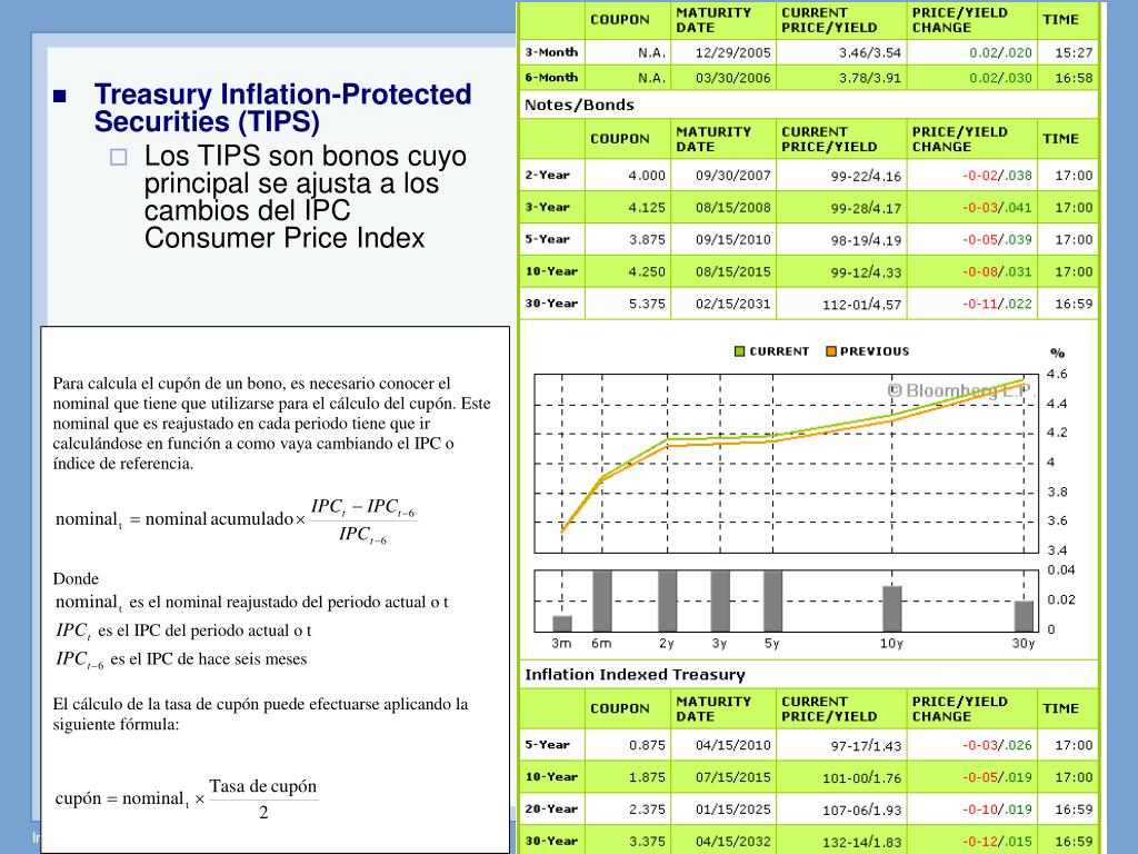 Treasury Inflation-Protected Securities (TIPS)