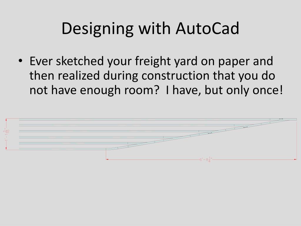 Designing with AutoCad