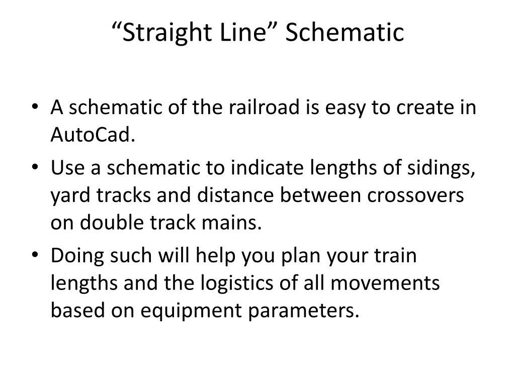 """""""Straight Line"""" Schematic"""